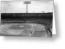 Baseball: Fenway Park, 1956 Greeting Card