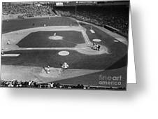 Baseball Game, 1967 Greeting Card by Granger