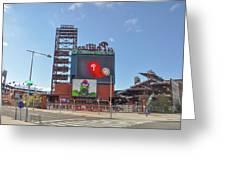 Baseball In Philadelphia - Citizens Bank Park Greeting Card
