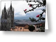 Basilica Del Voto Nacional Greeting Card