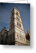 Basilica Di Santa Maria Del Fiore Tower  Greeting Card
