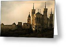 Basilica Of Our Lady Of Fourviere  Greeting Card