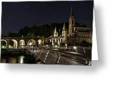 Basilica Of The Immaculate Conception Greeting Card