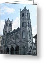 Basilique Notre Dame Greeting Card