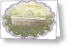 Basket Greeting Card