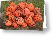 Basketbal Anyone Greeting Card