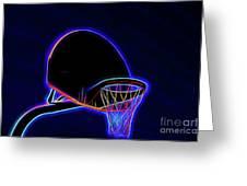 Basketball 121617-1 Greeting Card