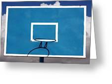 Basketball Backboard Greeting Card