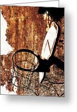 Basketball Hoop Version 6 Greeting Card