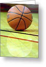 Basketball Reflections Greeting Card by Alan Look
