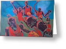 Basketball Soul Greeting Card