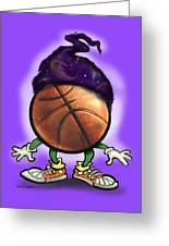 Basketball Wizard Greeting Card