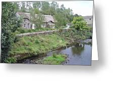 Baslow Cottages Greeting Card