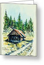 Basque Oven - Russell Valley Greeting Card