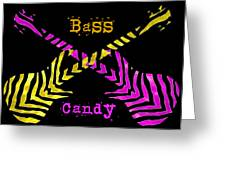 Bass Candy Greeting Card