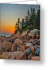 Bass Harbor Lighthouse Maine Greeting Card