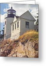 Bass Harbor Light Photo Greeting Card