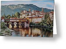 Bassano Del Grappa Greeting Card