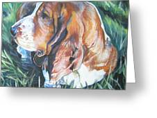 Bassett Hound 1 Greeting Card