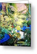 Bassin Jardin Majorelle Marrakech Maroc Painting By Francoise