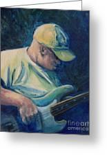 Bassman Blues Greeting Card