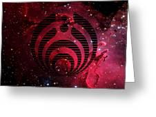 Bassnectar Galaxy Nebula Greeting Card
