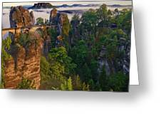 Bastei Greeting Card