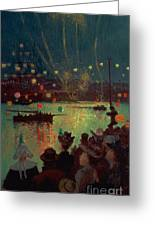Bastille Day At Lorient Greeting Card
