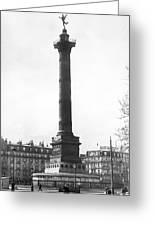Bastille Monument In Paris Greeting Card