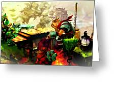 Bastion Greeting Card