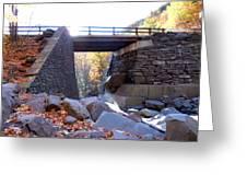 Bastion Falls Bridge 5 Greeting Card