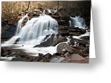 Bastion Falls In April Greeting Card
