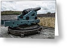 Bastion Gun Greeting Card
