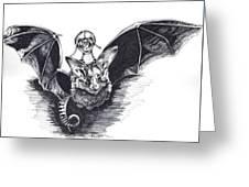 Bat Mobile Greeting Card