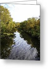 Batavia, Ohio Creek Vertical Greeting Card