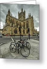 Bath Abbey 2.0 Greeting Card