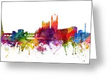 Bath England Cityscape 06 Greeting Card