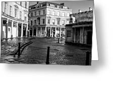 Bath Spa Greeting Card by Trevor Wintle