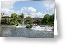 Bathampton Bridge Greeting Card
