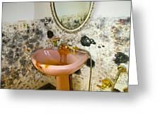 Bathroom Mold Greeting Card