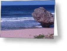 Bathsheba Beach Barbados Greeting Card