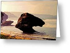 Bathsheba Rocks Greeting Card