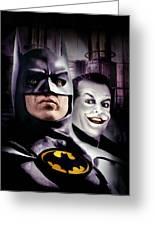 Batman 1989 Greeting Card