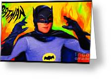 Batman, Adam West Greeting Card