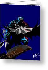 Batman Dark  Greeting Card