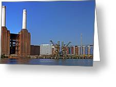Battersea To Chelsea Greeting Card