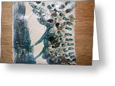 Battle - Tile Greeting Card