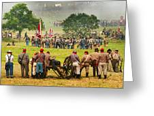 Battle Lines Forming Greeting Card