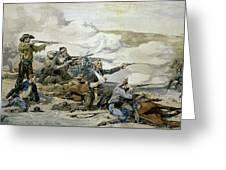 Battle Of Beecher's Island Greeting Card