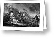 Battle Of Bunker Hill Greeting Card